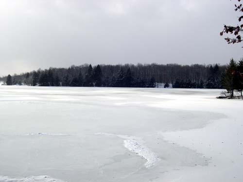 ice on ice on water